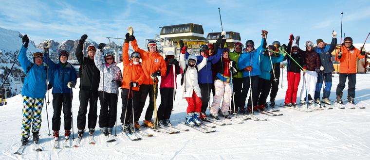 Gruppresor till Alperna